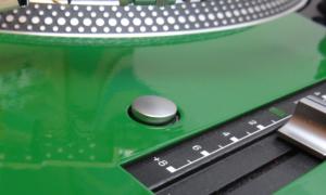 Faceplate Green